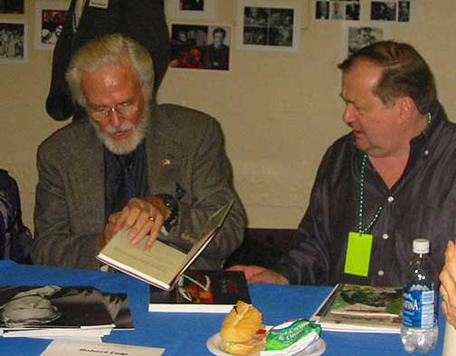 Robert Culp and Don McGregor